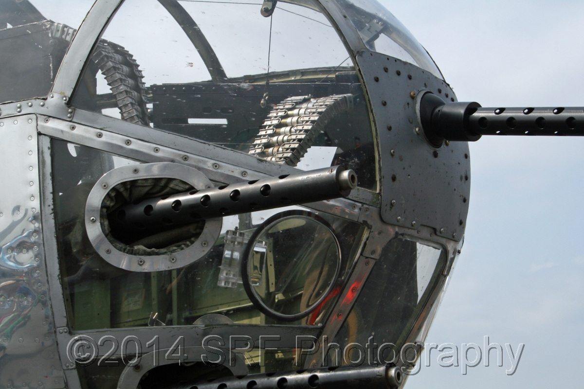 Vicious Mitchell B-25 Nose  (large view)