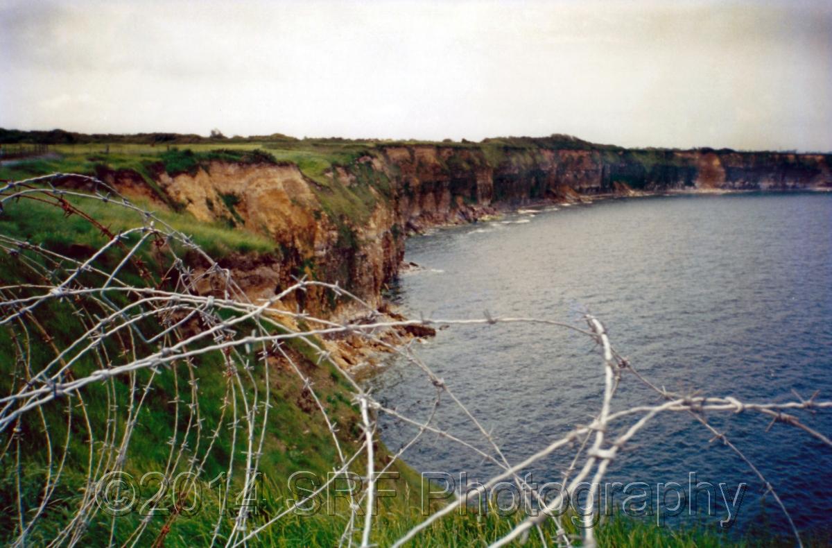 Cliffs of Pointe du Hoc  (large view)
