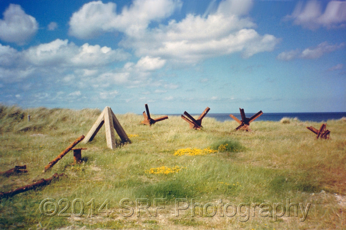 Obstacles on Utah Beach (large view)
