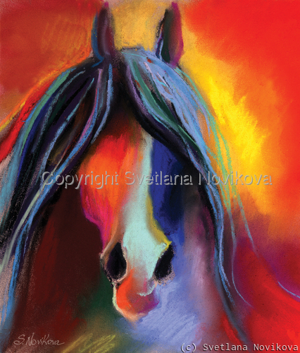 Mustang horse #2  Giclee print (large view)