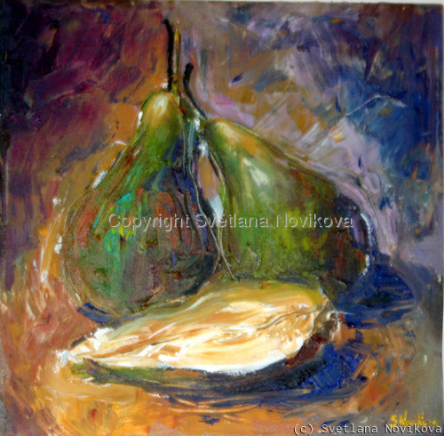 Pears still life #2 (large view)
