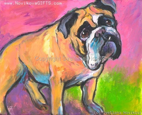 Bulldog # 7  (large view)