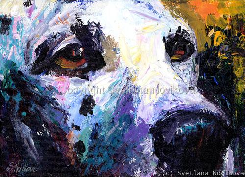 Dalmatian Dog Art (large view)
