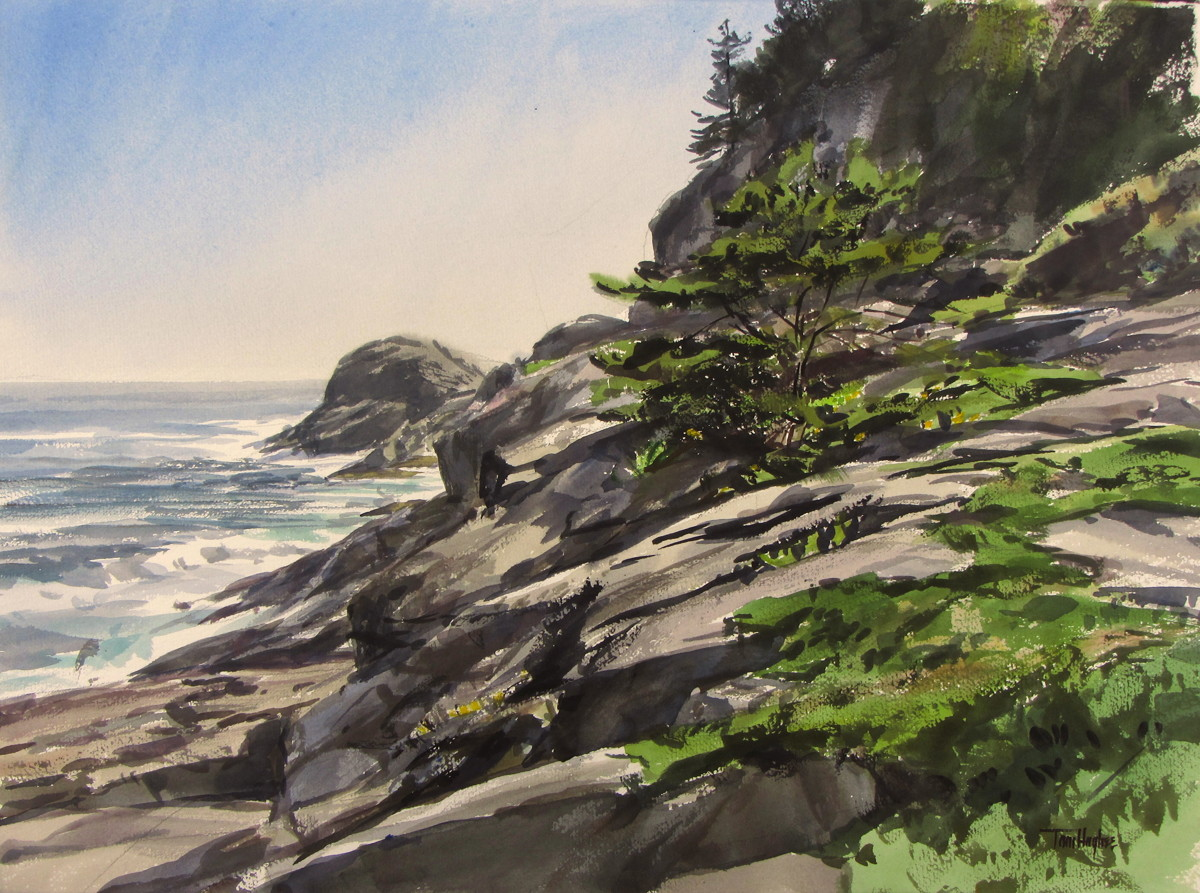 View of Gull Rock 2, Monhegan (large view)