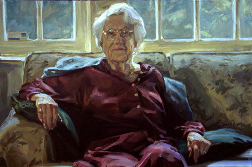 Portrait of Lorna Marshall (large view)