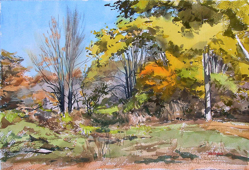 Fall landscape (large view)