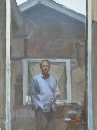 Window self portrait 2 (large view)