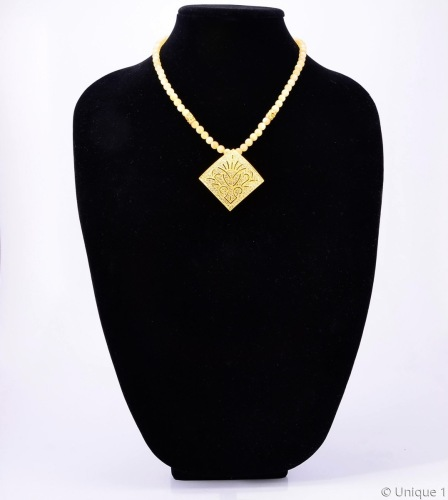Calcite and Gold Necklace