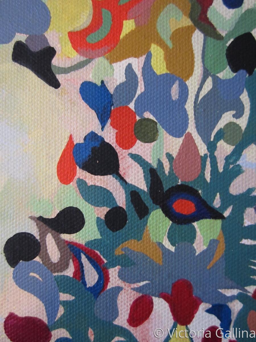 Textile design {Sweden} - detail  (large view)