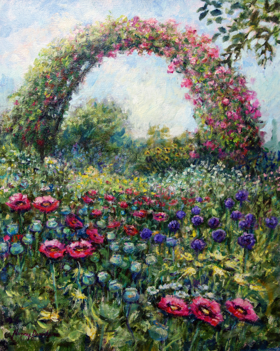 Garden Arch at Giverny (large view)