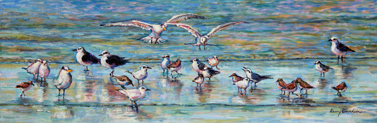 The Birds at Breach Inlet No. 2 (large view)