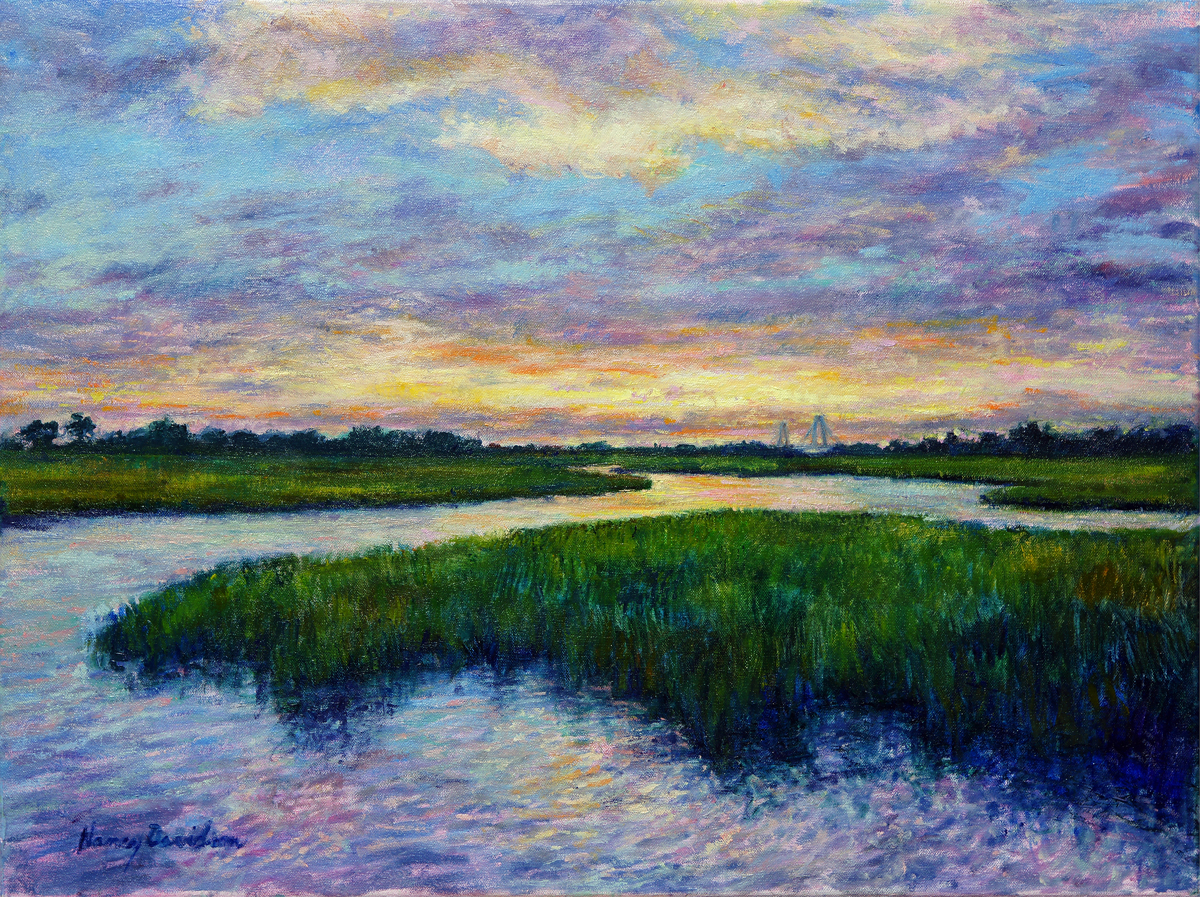 Sunset Over Shem Creek (large view)