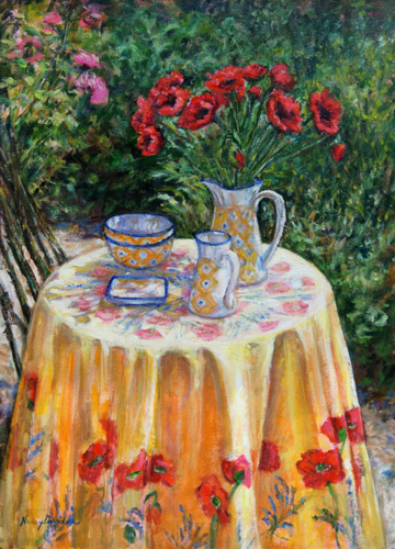 Cafe at Giverny (large view)