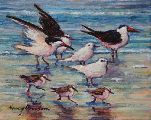 Beach Birds (large view)
